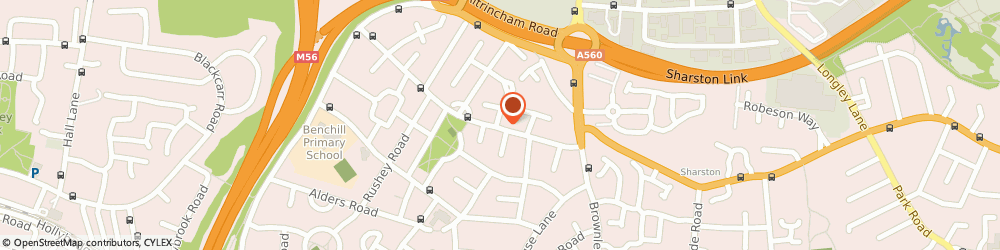 Route/map/directions to Tony Fitz Carpets, M22 8DL Manchester, 53 Royalthorn Road