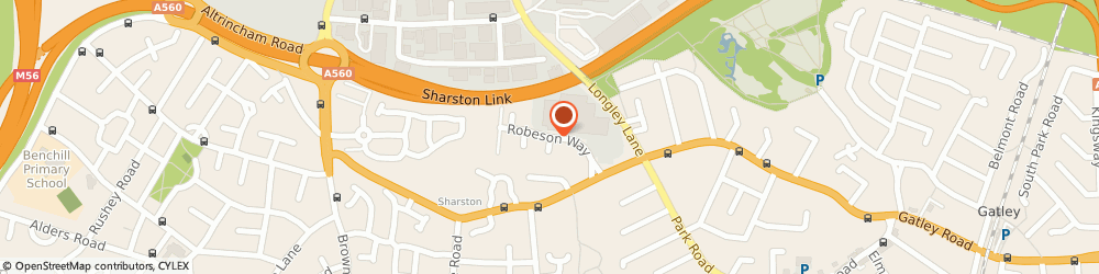 Route/map/directions to Fourninety, M22 4SX Manchester, ROBESON WAY