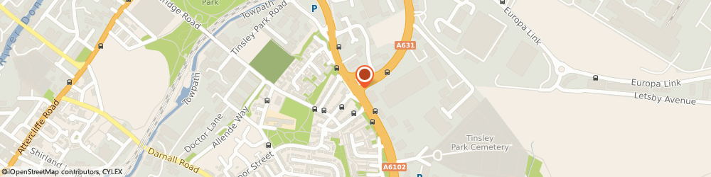 Route/map/directions to B&q Home Improvement Sheffield, S9 5HE Sheffield, Greenland Road