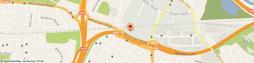 Route/map/directions to Stained Glass Overlay UK Limited, M22 9AF Manchester, COLUMBUS HOUSE, ALTRINCHAM ROAD