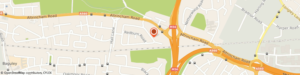 Route/map/directions to A B Carr, M23 1AB Manchester, 28, SPINNEY ROAD