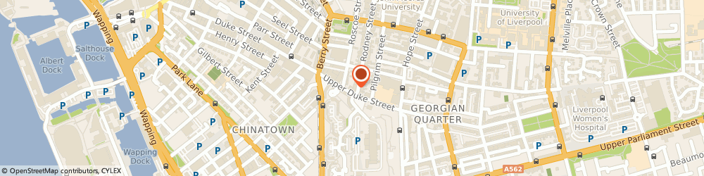 Route/map/directions to Chiropody.co.uk, L1 9AR Liverpool, 88 Rodney Street