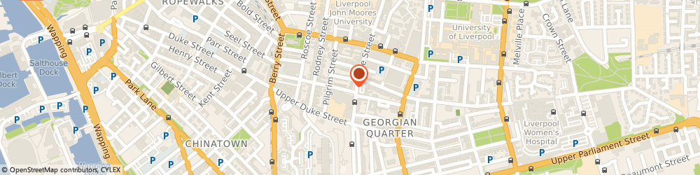 Route/map/directions to Tracey Bell Clinic Liverpool, L1 9HD Liverpool, 35 Mount Street