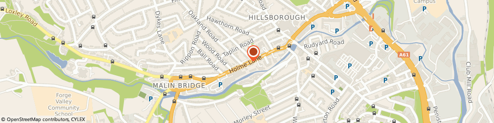 Route/map/directions to Revolution Inc, S6 4JW Sheffield, 94-96 Holme Ln