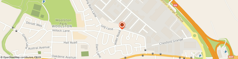 Route/map/directions to Cakes by Rizpah, WA1 4EE Woolston, 51 Gig Ln