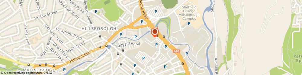 Route/map/directions to B&Q Sheffield - Penistone Road, S6 2GF Sheffield, 701 Penistone Road