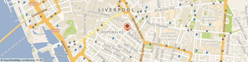 Route/map/directions to Ace & Tate, L1 4EA Liverpool, Bold Street 60