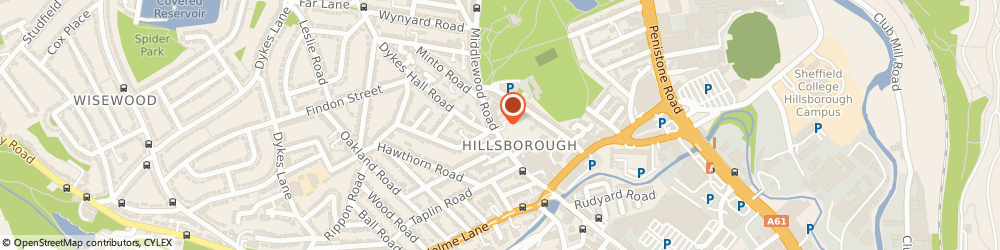 Route/map/directions to NatWest - SHEFFIELD ATM, S6 4HA Sheffield, 72 Middlewood Road