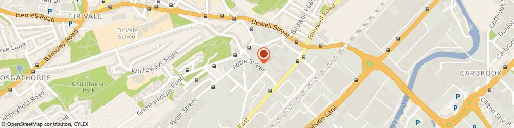 Route/map/directions to Hawleys Tyres - Team Protyre, S4 8DA Sheffield, Unit 4, Carlisle Business Court