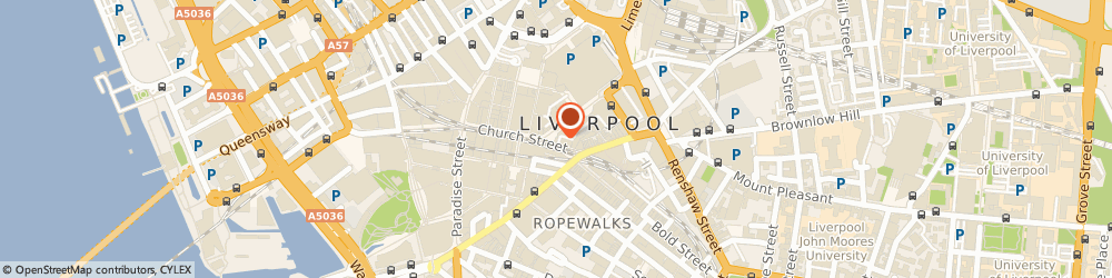 Route/map/directions to Carphone Warehouse, L1 1DN Liverpool, 2, Parker Street