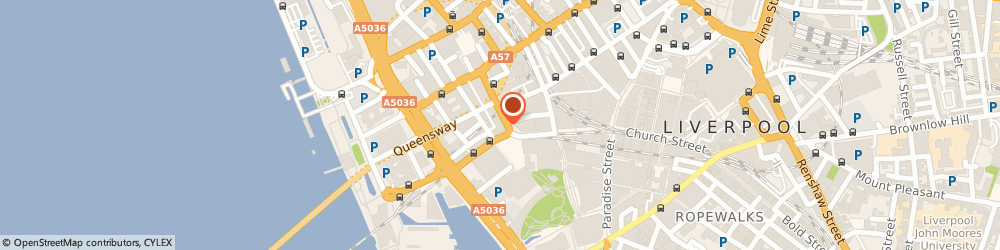 Route/map/directions to Trials Hotel, L2 7LQ Liverpool, 62 Castle St