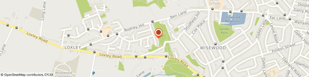 Route/map/directions to S d Plastering, S6 6TE Sheffield, 9 Eden Drive