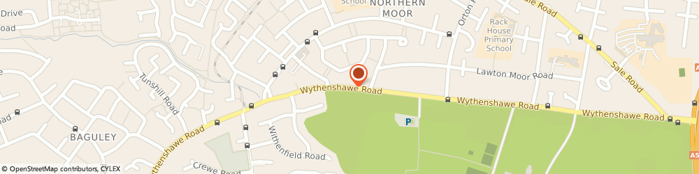 Route/map/directions to Martin Walker Signs, M23 0AD Manchester, 171 Wythenshawe Road