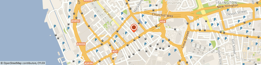 Route/map/directions to Premier Inn Liverpool City Centre (Moorfields) hotel, L2 2AY Liverpool, 3 Vernon Street