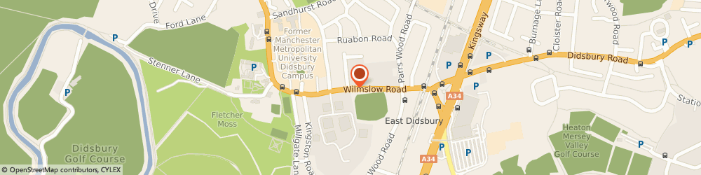 Route/map/directions to B D H T B W A LTD., M20 2RE Manchester, 825A Wilmslow Rd
