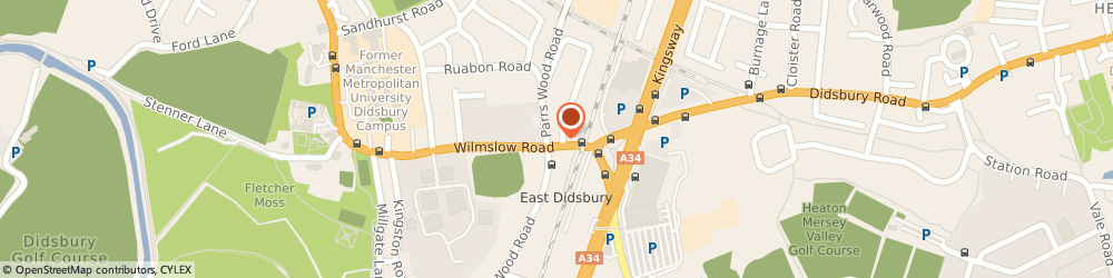 Route/map/directions to Family Law Didsbury, M20 5WD Manchester, 833 Wilmslow Rd