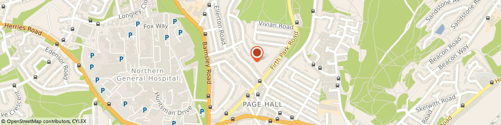 Route/map/directions to Physiotherapy Home Visits, S5 6UR Sheffield, 10 Bolsover Road