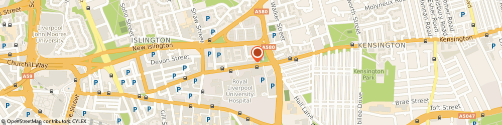 Route/map/directions to Tesco Express, L7 8UH Liverpool, 63 Prescot St