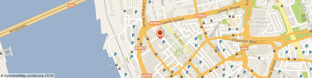 Route/map/directions to Been Let Down, L3 9QJ Liverpool, The Plaza, 100 Old Hall St.