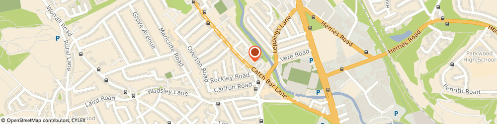 Route/map/directions to Just Riding Along, S6 1TE Sheffield, FLAT, 218 MIDDLEWOOD ROAD