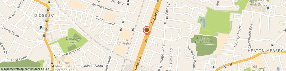 Route/map/directions to Classic Interiors, M19 1GN Manchester, 170 School Ln