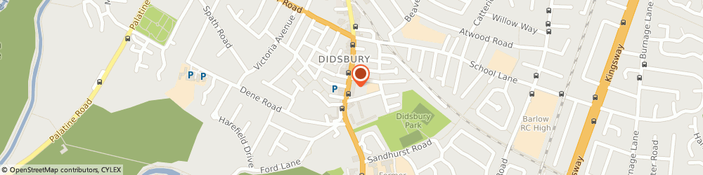 Route/map/directions to Costcutter, M20 6RN Manchester, Shell- Didsbury Service Station 761-765 Wilmslow Road