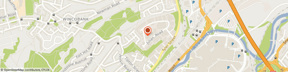 Route/map/directions to The Physios, S9 1GD Sheffield, STEWART HOUSE, CENTURION BUSINESS PARK, JULIAN WAY