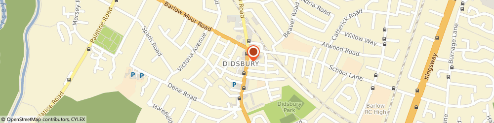 Route/map/directions to Gusto- Didsbury, M20 2DW Manchester, 756 Wilmslow Rd