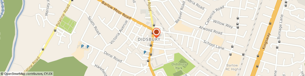 Route/map/directions to Zizzi Restaurants Manchester, M20 2DN Manchester, 700 Wilmslow Road