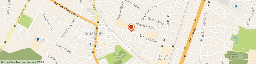 Route/map/directions to URBAN ANGELS, M20 6RT Manchester, 58 School Ln