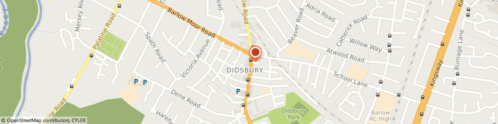 Route/map/directions to D.S COLOUR LABS LTD, M20 2DW Manchester, 720 Wilmslow Rd
