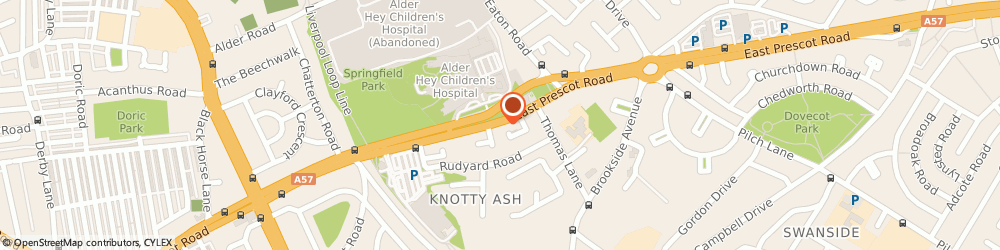 Route/map/directions to Knotty Ash Catering, L14 5NG Liverpool, 212 East Prescot Road