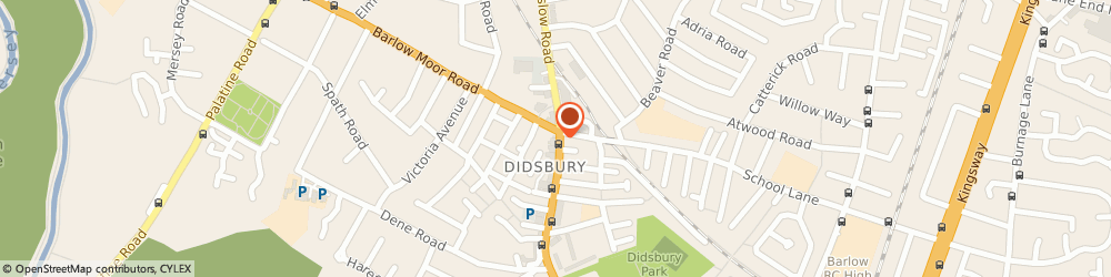 Route/map/directions to Injury Lawyers 4 U Ltd, M20 2FW Manchester, Barlow House, 708-710, Wilmslow Rd