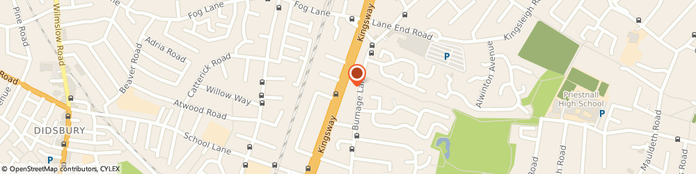 Route/map/directions to A P Bromiley, M19 1RA Manchester, 563 KINGSWAY