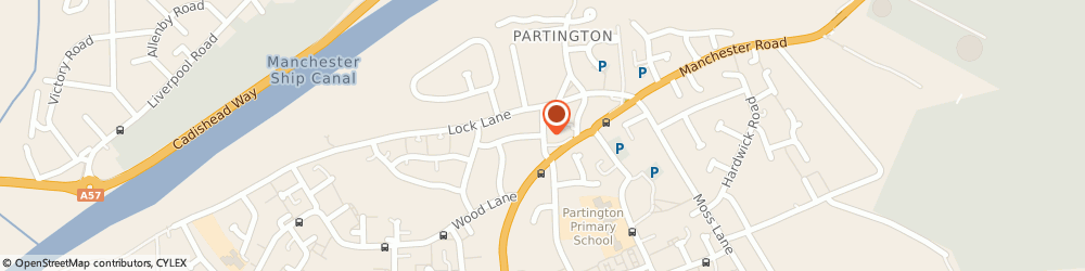 Route/map/directions to Platinum Auto Detailing, M31 4WH Manchester, Bailey Lane