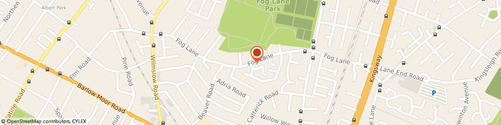Route/map/directions to APEX LTD, M20 6FJ Manchester, EMERY HOUSE, 195 FOG LANE