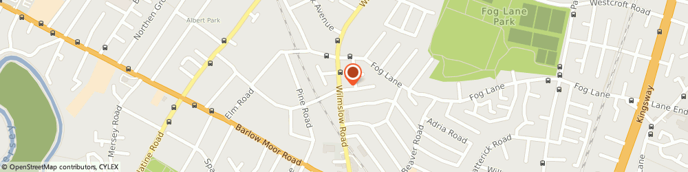 Route/map/directions to Parkfield Dental Practice, M20 6DF Manchester, 637 Wilmslow Rd