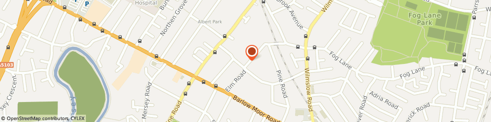 Route/map/directions to Hardicre Cole Limited, M20 6DD Manchester, 7 PARKFIELD LODGE, PARKFIELD ROAD SOUTH
