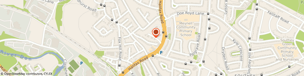 Route/map/directions to Social Services, S9 4JT Sheffield, THE OLD SCHOOL
