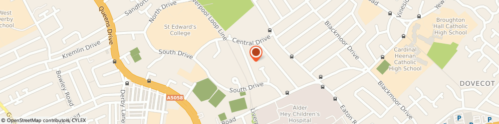 Route/map/directions to Bellaire Buffet Catering, L12 2AS Liverpool, 33, WHINFELL RD