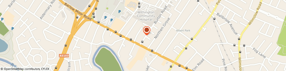 Route/map/directions to Blake House Management Company Limited, M20 2NB Manchester, 298 BURTON ROAD, WEST DIDSBURY