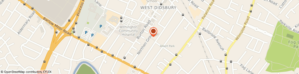 Route/map/directions to Sock Paper Scissors Ltd, M20 2NN Manchester, 51 Northen Grove