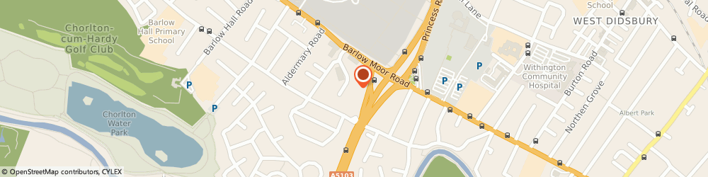 Route/map/directions to ANIMATE SEARCH LTD, M21 7QY Manchester, 7 Christie Way, Christie Fields