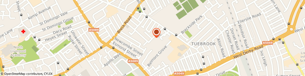 Route/map/directions to Public Loss Adjusters, L6 4AB Liverpool, 103 Richmond Park