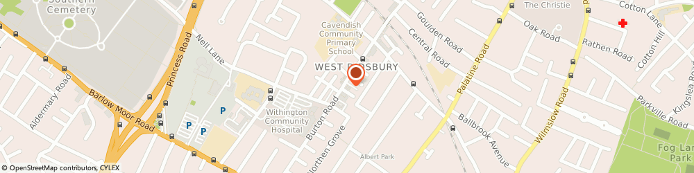 Route/map/directions to The White Room Consultancy Limited, M20 2LN Manchester, 165 Burton Rd