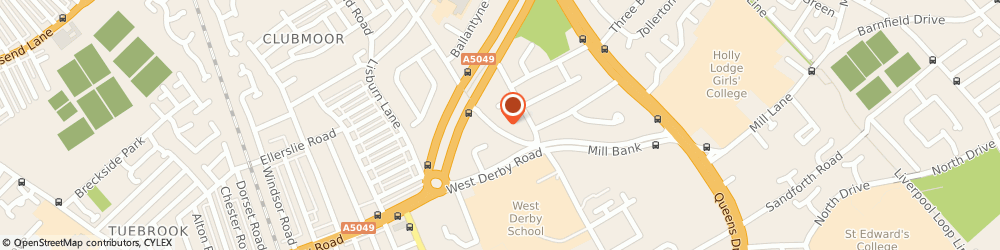 Route/map/directions to dgsm driver training, L13 0BL Liverpool, 25 Delamain Rd