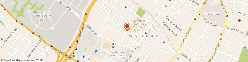 Route/map/directions to Maxim Planning Consultancy Limited, M20 2JQ Manchester, APARTMENT 27, 2 HOUSEMAN CRESCENT