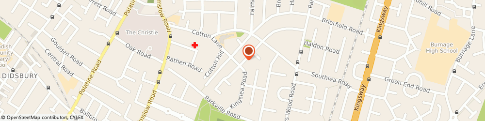 Route/map/directions to Costcutter, M20 4XW Manchester, 3 Heathside Road