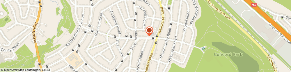 Route/map/directions to Dick & Di's, S5 0QA Sheffield, 18 NETHERSHIRE LANE