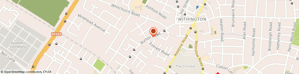 Route/map/directions to Klass Heating & Plumbing, M20 3EB Manchester, 56 BURTON ROAD